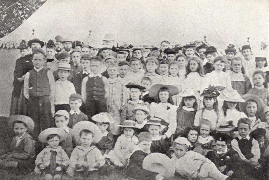 1892 Sunday School at Crooked Billet