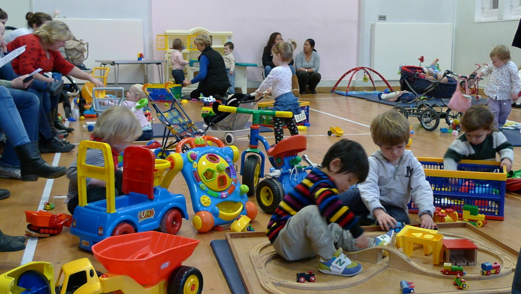 Trinity Toddlers play group in Old Hall
