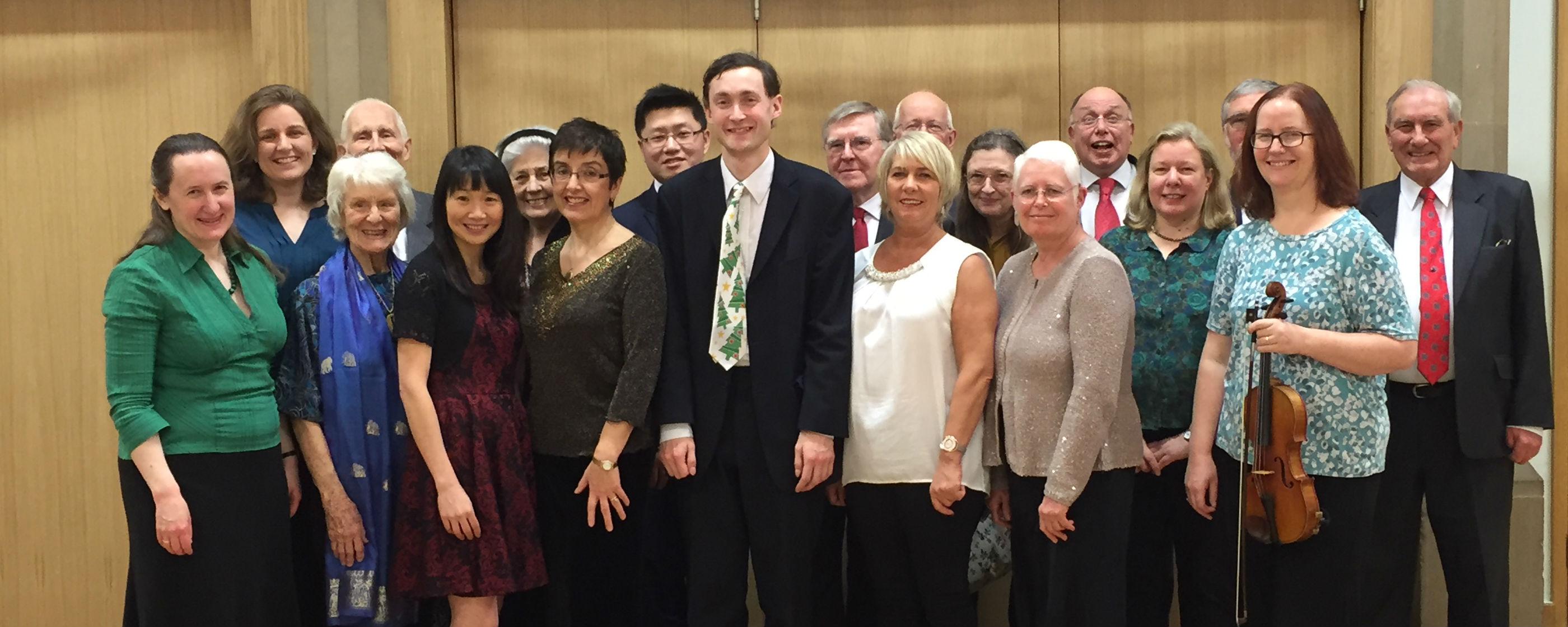 Choir and musicians Trinity