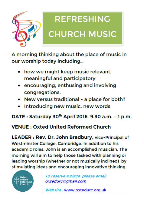 Refreshing church music
