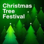 Banner for the Christmas Tree Festival